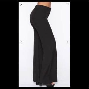 FashionNova wide leg/bell bottom pants
